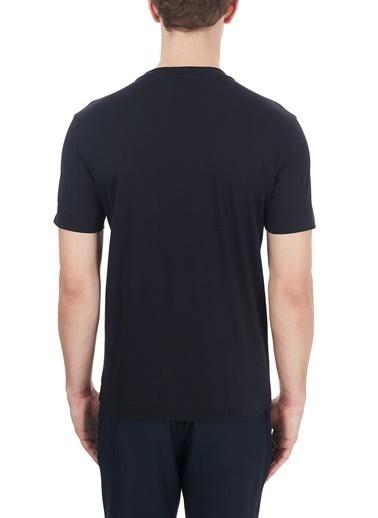 Emporio Armani  Baskılı Bisiklet Yaka % 100 Pamuk T Shirt Erkek T Shırt S 6H1Ta3 1Jdxz 0920 Lacivert